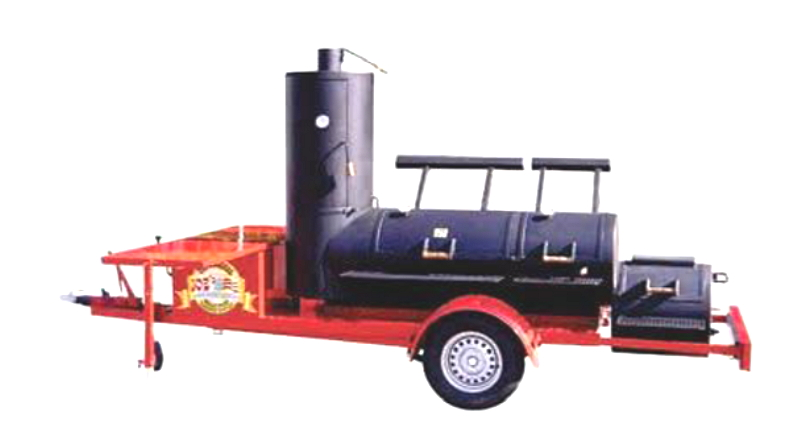 24 Zoll Joe`s Extended Catering Smoker® Gastro Catering BBQ Trailer